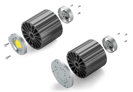 Active heatsink enhances LED lifespan